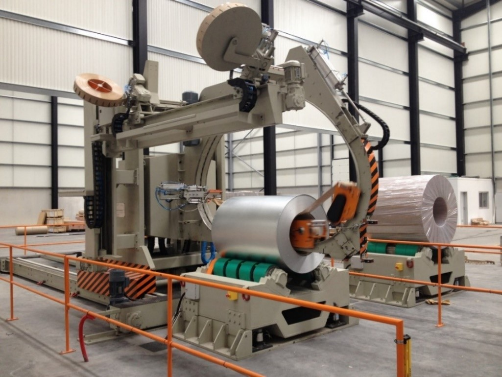 MEC DAGI - Automated coil wrapping machines IPYESA